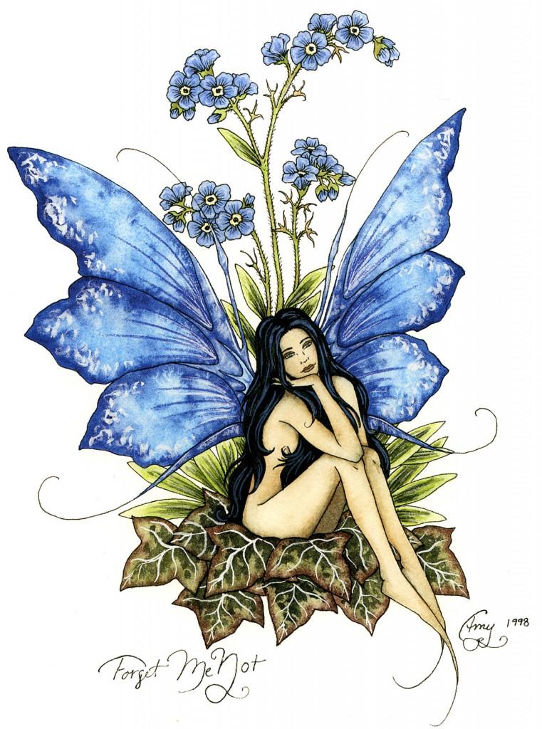 Dessins illustrations peintures de f es elfes lutins amy brown f es elfes lutins - Dessin elfes et fees ...