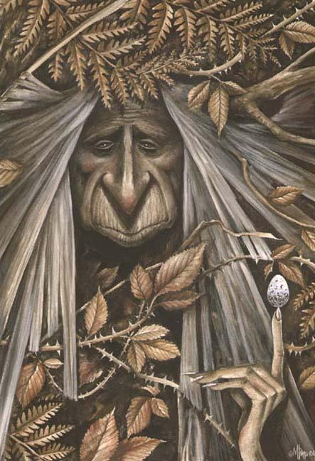 Dessins illustrations peintures de f es elfes lutins marc potts f es elfes lutins - Dessin elfes et fees ...