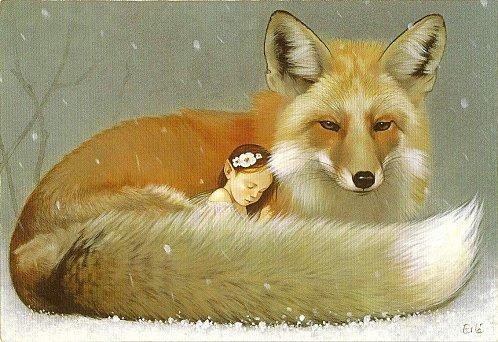 Dessins illustrations peintures de f es elfes lutins erl ferronni re f es elfes lutins - Dessin elfes et fees ...
